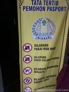Tata Tertib Cara Membuat-Mengurus dan Pembuatan Imigrasi Paspor Online www.SelametHariadi.com