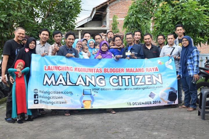 Foto Bersama Launching Komunitas Blogger Malang Raya, Malang Citizen (dok.mas Richo)