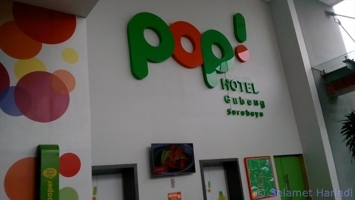 Pop! Hotel Gubeng Surabaya (dok. pribadi)