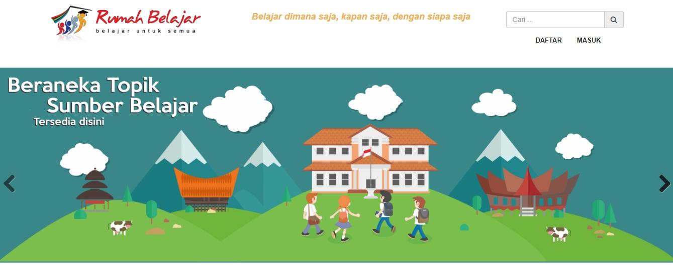 Rumah belajar Kemdikbud Kementerian Pendidikan dan Kebudayaan www.selamethariadi.com