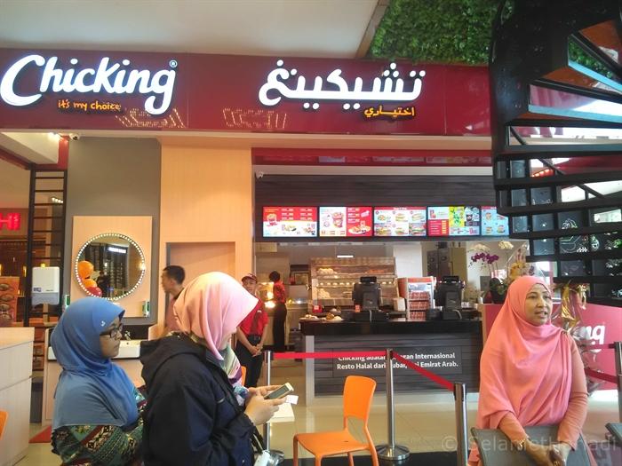 Chicking Surabaya Plaza (dok. pribadi)