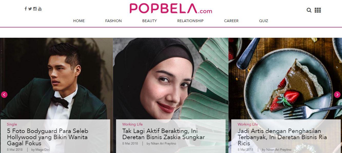 Review Positif tentang Popbela.com media wanita modern www.selamethariadi.com