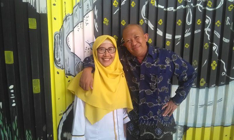 Dokter Iswiyanti Widyawati dan Suami Dokter Arief Basuki (dok.pribadi)