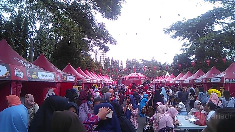 Pucuk Coolinary Festival Wisata Kuliner Terbesar di Malang selamethariadi.com