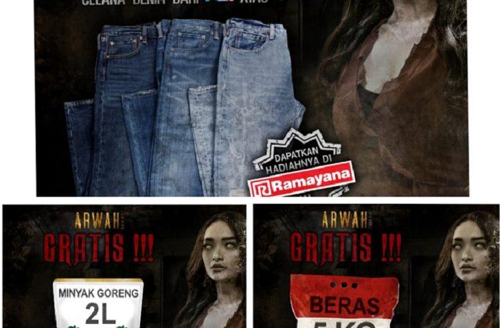 RA Pictures Film Indonesia Tukar Tiket dapat Sembako Jins ramayana