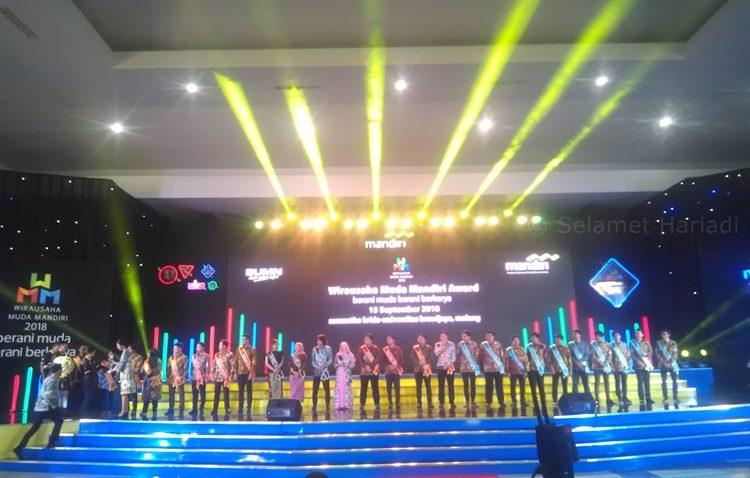 Wirausaha Muda Mandiri Award 2018 Bank Mandiri Entrepreneur Kewirausahaan Penghargaan WMM selamethariadi.com (1)