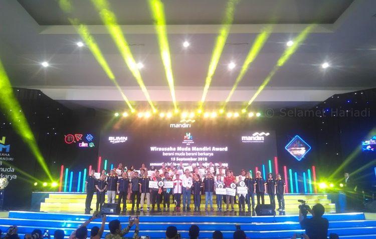 Wirausaha Muda Mandiri Award 2018 Bank Mandiri Entrepreneur Kewirausahaan Penghargaan WMM selamethariadi.com (3)