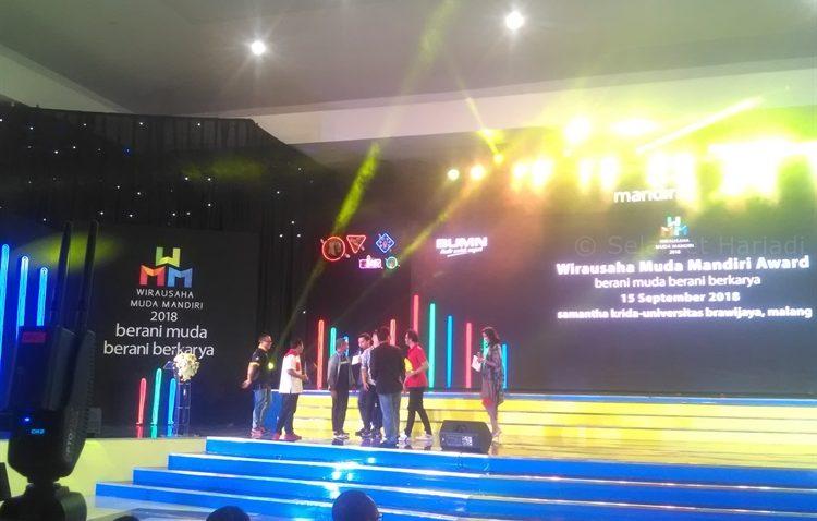 Wirausaha Muda Mandiri Award 2018 Bank Mandiri Entrepreneur Kewirausahaan Penghargaan WMM selamethariadi.com (35)