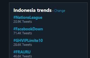 facebook down Instagram Down Trending Topic Indonesia selamethariadi.com