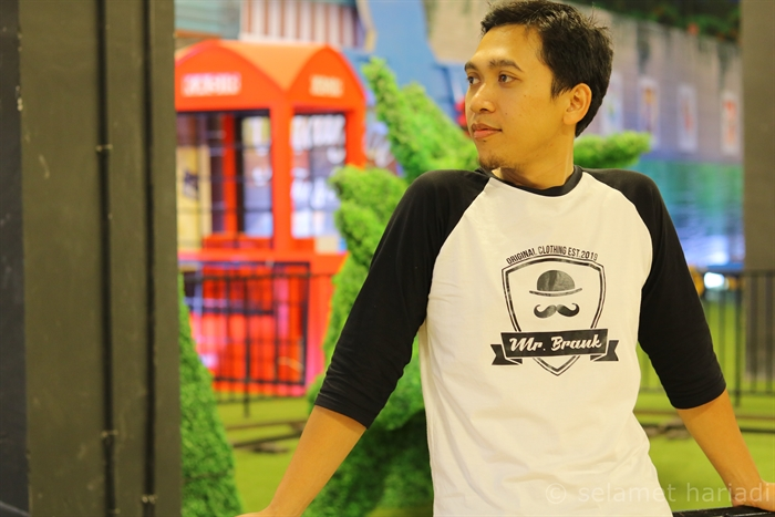 Style Hitam Putih Casual, Trend Fashion Mr Brank Brand Fashion Indonesia
