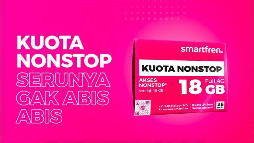 KUOTA NONSTOP Smartfren 4G