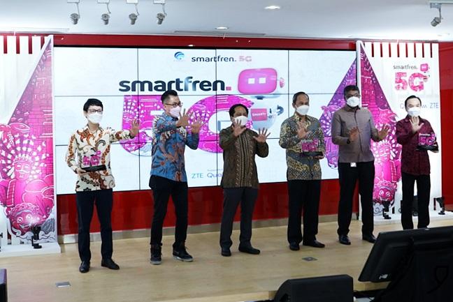 Uji Coba Teknologi 5G Kominfo Bersama Smartfren selamethariadi