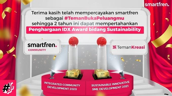 IDX Award Berikan Penghargaan untuk Teman Kreasi Indonesia selamethariadi